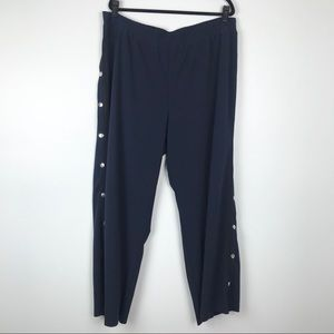 Eloquii Pants - NWT Eloquii Side Snap Track Pants Size 20